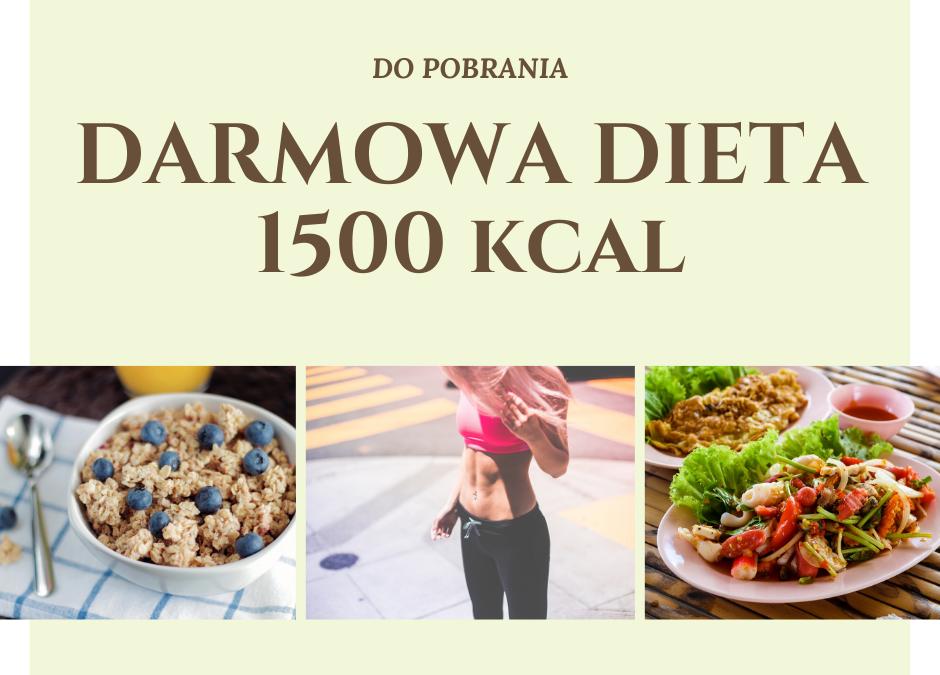 Darmowa dieta redukcyjna 1500 kcal