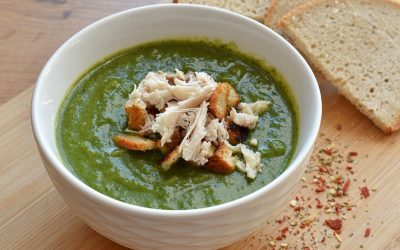 Zupa Shreka czyli krem zeszpinaku